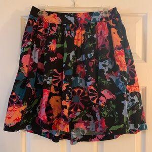 Fun & flirty Thakoon multicolored skirt w pockets